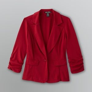 Red blazer. EUC